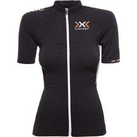 X-Bionic The Trick Biking Jersey SS Full-Zip Women, black/white